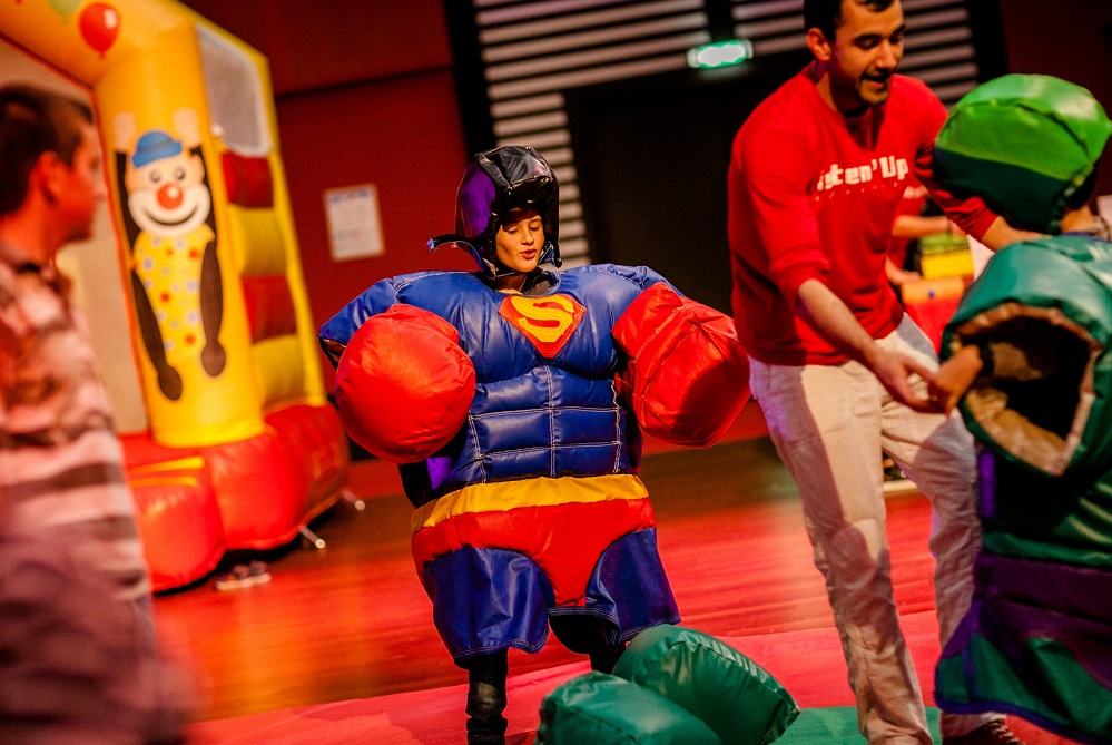 super hero fete enfant noel